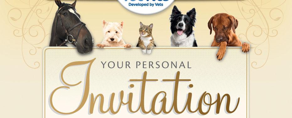 Your personal invitation