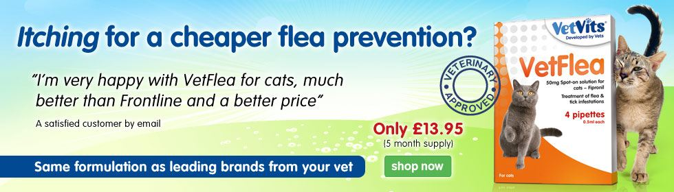VetFlea for cats
