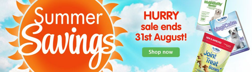 Summer Savings end 31.08.14